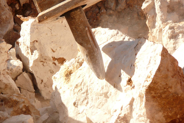 attrezzatura per escavatori